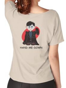 Hand me down: Black. Women's Relaxed Fit T-Shirt