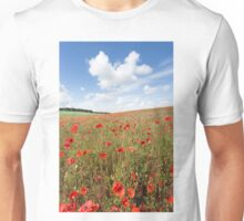 Norfolk Poppy Field Unisex T-Shirt