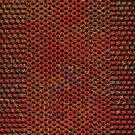 Red texture background by dominiquelandau