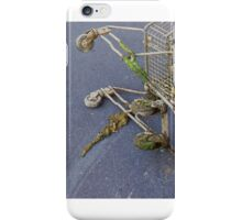 Trolley on the street iPhone Case/Skin