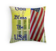 Happy 4th Of July!!! Throw Pillow