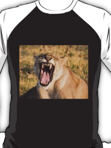 Lioness Bares Her Teeth T-Shirt