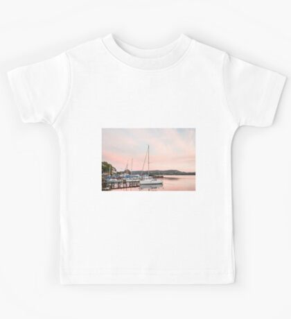 Lake Windermere at Sunset Kids Tee