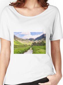 Warnscale Beck, Buttermere Women's Relaxed Fit T-Shirt
