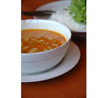 lamb curry Photographic Print