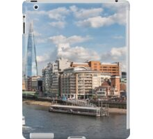 London Skyline and River Thames iPad Case/Skin