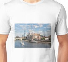 London Skyline and River Thames Unisex T-Shirt