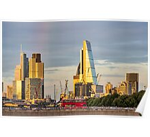 City of London Cityscape Poster