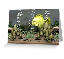 A fish named Gyle  Greeting Card