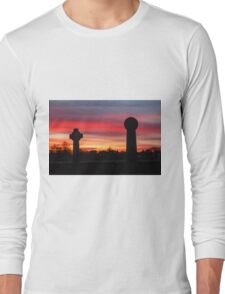 Sunset at Durham Cathedral Long Sleeve T-Shirt