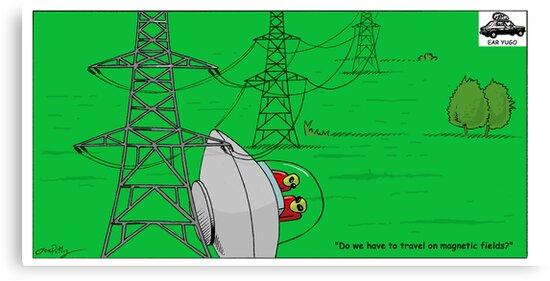 Magnetic U.F.O. by earyugo