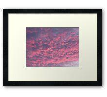 Another Stonking Sunset 2 Framed Print