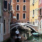 Gondola ride - Venice, Italy by Harv Churchill