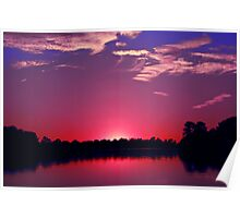 American Sunset Poster