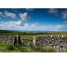 See for miles Photographic Print