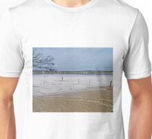 Salt lake, Kangaroo Island, South Australia  Unisex T-Shirt
