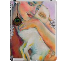 Serenity: The Woman with The Lamb - Detail iPad Case/Skin