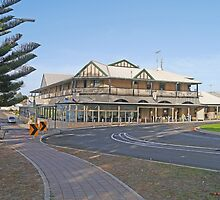 Ozone Hotel, Kingscote, Kangaroo Is., Australia by Margaret  Hyde