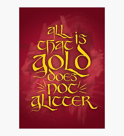 All That Is Gold Photographic Print