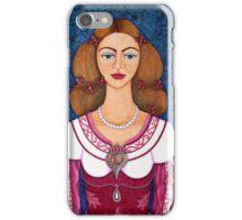 Ines de Castro - The love crowned iPhone Case/Skin