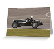 1935 MG KN Special Greeting Card