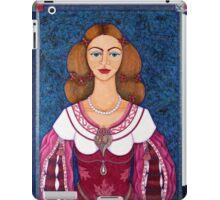 Ines de Castro - The love crowned iPad Case/Skin