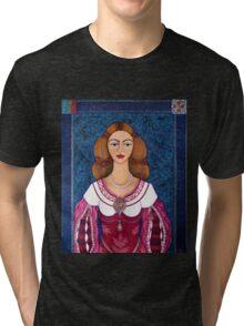Ines de Castro - The love crowned Tri-blend T-Shirt