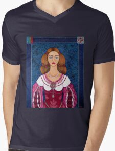 Ines de Castro - The love crowned Mens V-Neck T-Shirt