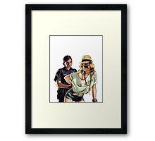 Naughty girl! Framed Print