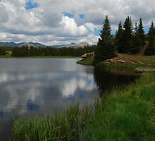 Lakeside View - Andrews Lake CO by Bo-Ross
