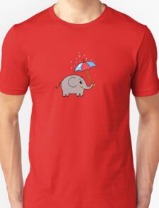 Baby elephant with an umbrella T-Shirt