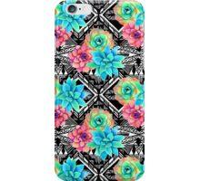 Succulent tribal iPhone Case/Skin