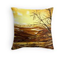 Sunrise Valley  Throw Pillow