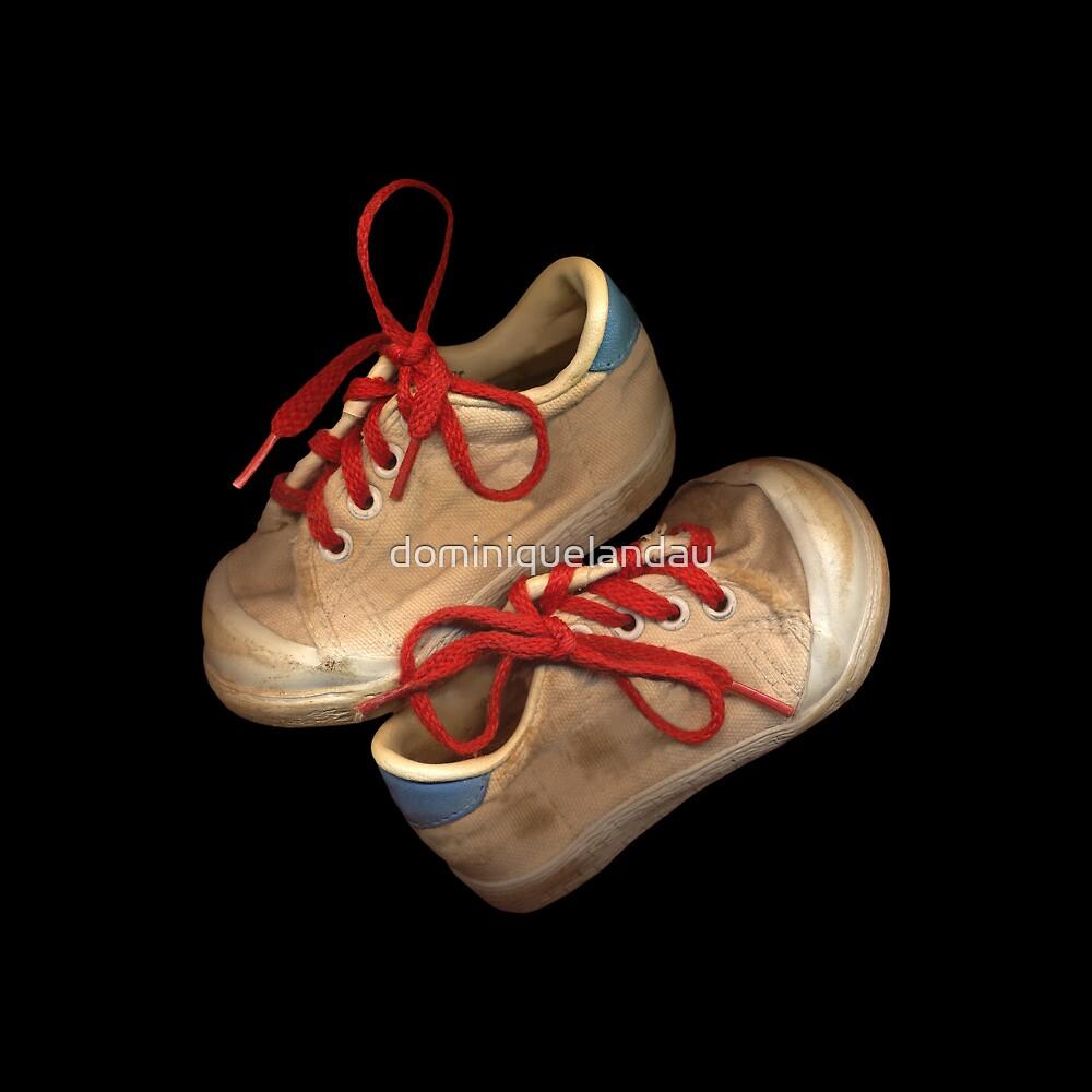 Child tennis shoes by dominiquelandau