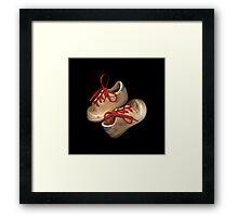 Child tennis shoes Framed Print