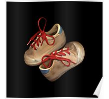 Child tennis shoes Poster
