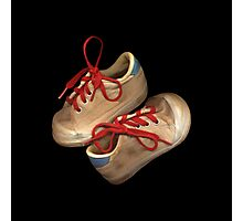Child tennis shoes Photographic Print