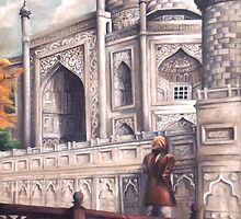Taj mahal-the monument of love by Lubna