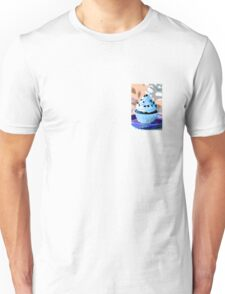 Chocolate Cupcakes with Blue Buttercream Unisex T-Shirt
