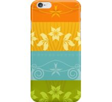 Floral Decor Retro Pattern Vector Illustration iPhone Case/Skin