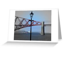 Forth Rail Bridge * South Queensferry Greeting Card