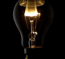 Nuclear powered lightbulb by Nigel Johnson