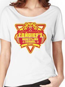 the russian bear wrestling school Women's Relaxed Fit T-Shirt