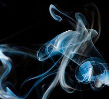 Ghost Rider - Smoke Art by Nigel Johnson