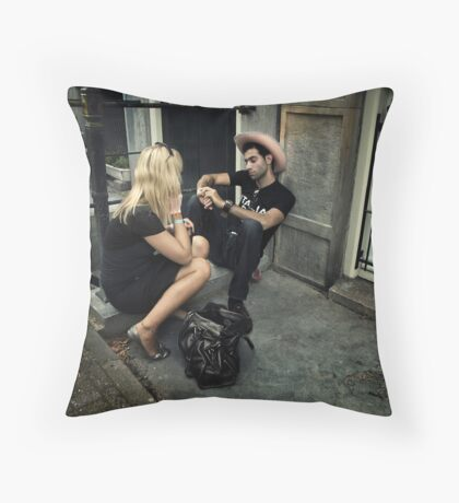 Just you and me... babe.. Throw Pillow