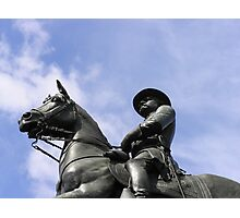 Rider in the Sky Photographic Print