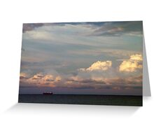 Across the Great Lakes Greeting Card