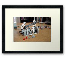 Aim for Trust Framed Print