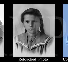 Photo Restoration Example by Junior Mclean