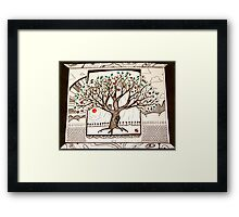 I Have Been Quietly Standing in the Shade All of my Days Framed Print